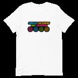 corales cultivados mas coloridos camiseta blanca